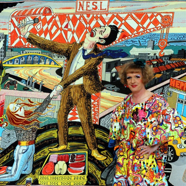 Grayson Perry'sVanity of Small Differences at the Sunderland Museum and Winter Gardens.