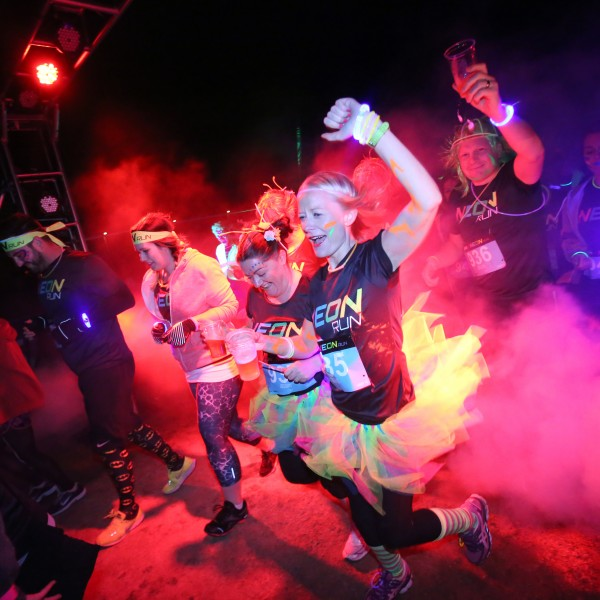 Neon Colour Run Sunderland