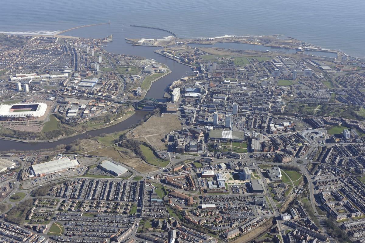 Sunderland-City-Aerial